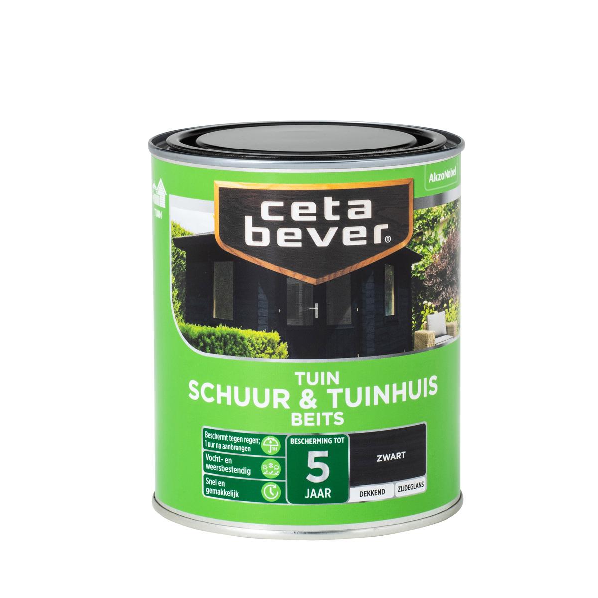 CetaBever Schuur & Tuinhuis Dekkend