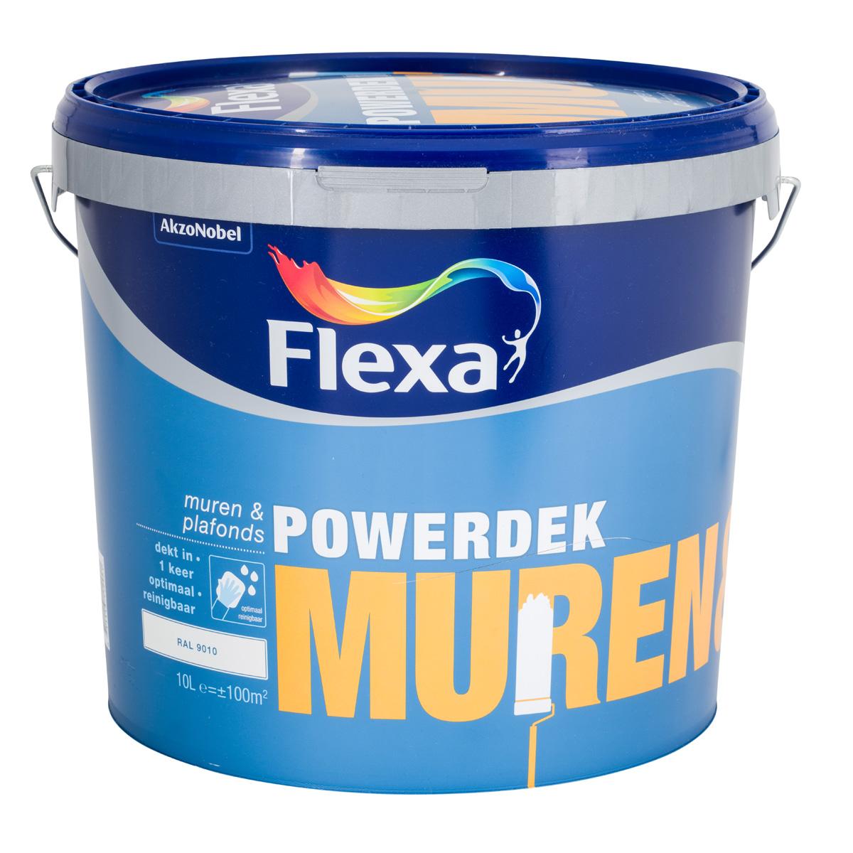 Flexa Powerdek Muren en Plafonds 10L