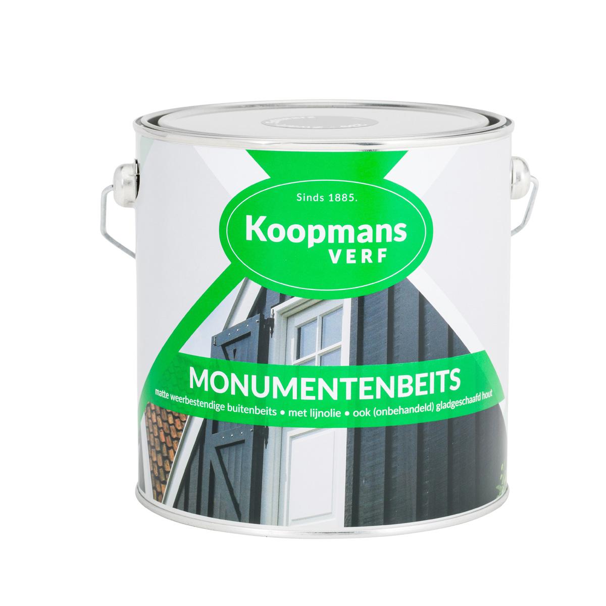 Koopmans Monumenten Beits - 2,5 liter