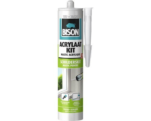 Bison Acrylaatkit sneldrogend wit