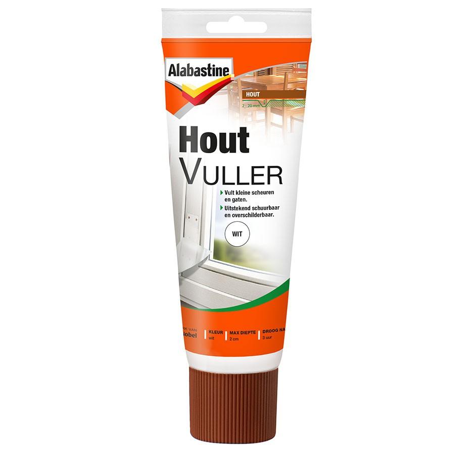 Alabastine Houtvuller - 330 tube - Wit