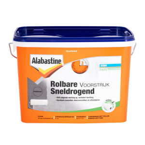 Alabastine Rolbare Voorstrijk 5 liter