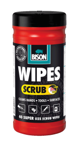 Bison Magic Wipes Scrub