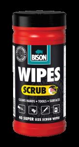 Bison Magic Wipes Scrub
