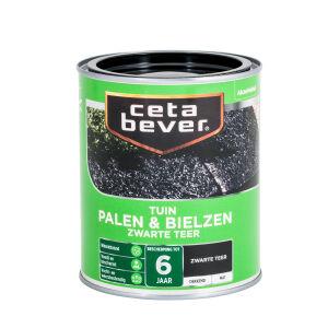 CetaBever Tuinbeits Palen & Bielzen Zwarte teer