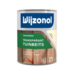 Wijzonol Transparant Tuinbeits